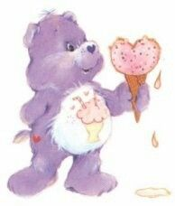Share bear the Care Bear :) Care Bears, Purple Love, All Things Purple, Morning Cartoon, We Bear, Cartoon Tattoos, Rainbow Brite, Vintage Cartoon, Clipart