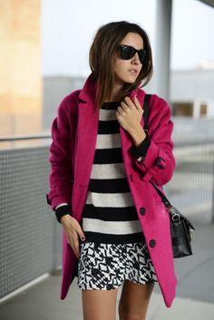 saturday pink coat - Lovely Pepa by Alexandra
