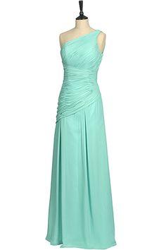 One Shoulder Bridesmaid Dress. 10& 18. £50