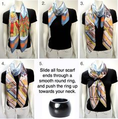Double scarves, double fun - how to's