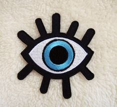 Eye Patch Eye Iron on Patch Applique Iron on Patch by DIYMINT