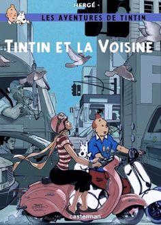 Les Aventures de Tintin - Album Imaginaire - Tintin et la Voisine