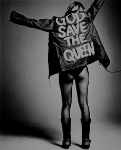 God Save the Queen. I need a picture like this!