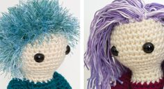 Making Hair for Your Amigurumi—The Complete Idiot's Quick Guide