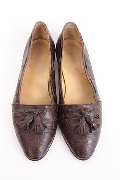 81f3ea1ed6c Vintage RALPH LAUREN Alligator Loafers at Rice and Beans Vintage Rice