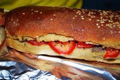 flavoured dark bread of castelvetrano
