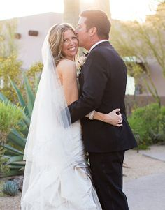 Stealing a kiss in the @Four Seasons Resort Scottsdale at Troon North sunshine.