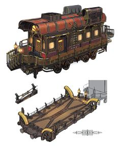 , Phantom Train Car Concept Art - Final Fantasy XIV: Stormblood Art Gallery , Phantom Train Car Concept Art from Final Fantasy XIV: Stormblood Subnautica Concept Art, Moana Concept Art, Pixar Concept Art, Fallout Concept Art, Monster Concept Art, Alien Concept Art, Star Wars Concept Art, Creature Concept Art, Environment Concept Art
