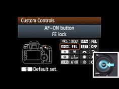 Canon EOS 5D Mark III On-Camera Tutorial: Back Button AF (3 of 5)