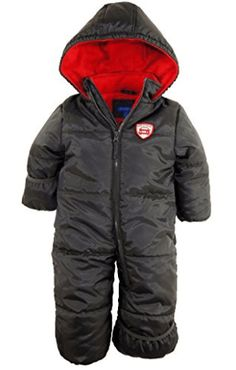 Baby Boy Clothes iXtreme Baby Boys Newborn Expedition Car One Piece Snowsuit Puffer Bunting Jacket, Charcoal, Months Boys Winter Coats, Winter Jackets, Cute Baby Boy, Baby Boys, Baby Girl Snowsuit, Baby In Snow, Snow Outfit, Expedition Vehicle, Boys Suits