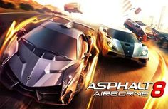 Download Asphalt 8: Airborne for Iphone           Game description:  Asphalt 8: Airborne. Test new intense races full of daring stunts on the new physics engine. Incredible 360 degree turns maneuvers in the air and jumps will turn Racing into flight! Racers from all over the world wait for your challenge!                                   Game features:  47 powerful high-performance cars (80% of them are new)  The best licensed manufacturers including Lamborghini Veneno Bugatti Veyron…
