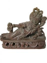 Laying Ardhnarishwar Statues Half Shiva n Parvati Stone Statue Brass Statues, Stone Statues, Bohemian Fall, Bohemian Decor, Indian Furniture, Vintage Furniture, Shiva Stone, Indian Bedding, Stone Sculpture