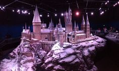Hogwarts in snow
