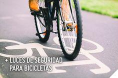 Para una mayor seguridad en tu bicicleta, es importante contar con los elementos preventivos necesarios. Si andas de noche, no puedes dejar de tener luces de seguridad en tus ruedas, asiento y manubrio. #SodimacHomecenter #Sodimac #Homecenter