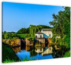 A Dutch water mill