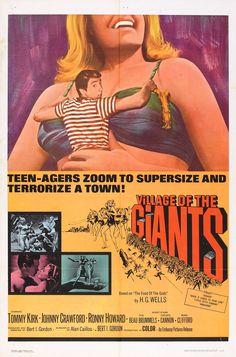 Village of the Giants (1965) Stars: Tommy Kirk, Johnny Crawford, Beau Bridges, Joy Harmon, Robert Random, Toni Basil, Ron Howard ~ Director: Bert I. Gordon
