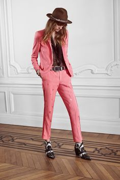 Zadig & Voltaire Spring 2016 Ready-to-Wear //// ahhh, I'm not even a pink person, but I need this in my life!!!