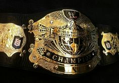 WWE Undisputed World Heavyweight Wrestling Championship Belt