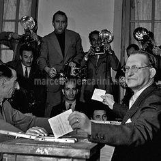 Alcide De Gasperi. Roma,1955
