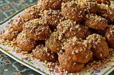 Greek Sweets, Greek Desserts, Greek Recipes, Winter Desserts, Tea Cakes, Melomakarona Recipe, Biscotti, Greek Spices, Greek Cake