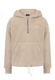 Sherpa Zip Hoodie / Off White