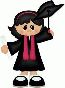 Silhouette Design Store - View Design graduate girl throwing hat w black hair pnc Silhouette Design, Graduation Clip Art, Graduation Ideas, Silhouette Online Store, Scrapbook Embellishments, Cartoon Kids, Paper Piecing, Cute Art, Paper Dolls