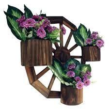 Resultado de imagem para floreira de parede de madeira