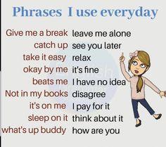 English for kids English Idioms, English Phrases, Learn English Words, English Lessons, French Lessons, Spanish Lessons, Teaching English Grammar, English Writing Skills, English Language Learning