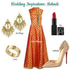 Class and Style. Dress to impress in this vibrant  anarkali with all the luxe accessories. Cartier, Inspiration Boards, Style Inspiration, Asian Bridal, Louboutin, Indian Ethnic, Anarkali, Indian Wear, Online Boutiques