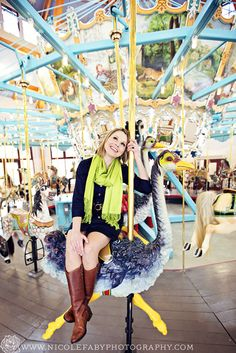 What would you guys think if we rented out the Davenport park carousel for a photoshoot? ;) -AJH