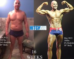 Most AMAZING 4 Month Fitness Competitor Body Transformation