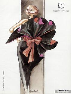 El legendario Stefano Canulli: Ilustración   Diseño de Vestuario