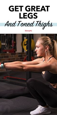 The One Exercise You Need To Get Great Legs And Toned Thighs workout is a single-legged workout that requires full body awareness and stability. Best Workout Routine, Workout Routines For Women, 30 Day Workout Challenge, Fun Workouts, Beginner Workouts, Fitness Workouts, Toned Thighs, Leg Workout Women, Summer Legs