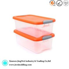 Plastic Stackable Storage Containers with Snap Tight Lids