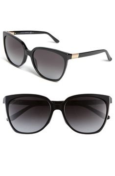 Gucci 57mm Oversized Sunglasses - black OR havana :)