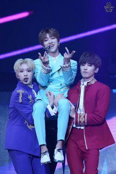 Hoshi & Wonwoo and Minghao