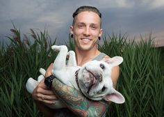 Telle and Colby The Word Alive, Will Smith, French Bulldog, Photo Wall, Community, Dogs, Animals, Character, Singers