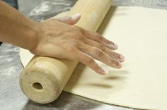 Gotta prep the dough