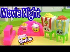 Shopkins Season 2 FAMILY MOVIE NIGHT Glitzi Globes Kids Video Fun Friends House Playset Play - YouTube