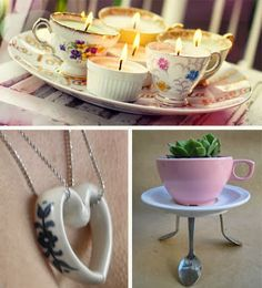 How to Recycle: Cup & Saucer Repurpose Cup & Saucer