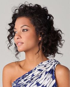 Wedding Hairstyles for Curly Hair | Woman Getting Married