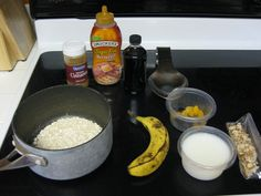 How To: Stove-top Oatmeal! Add creamy peanut butter, brown sugar, and maple syrup! Oh, fresh cracked walnuts too! Old Fashioned Oats Recipe, Old Fashioned Oatmeal, Cooking Oatmeal, Best Weight Loss Foods, Best Oatmeal, Oatmeal Recipes, Dairy Free Recipes, I Love Food, Food To Make