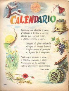 Italian Grammar, Italian Phrases, Italian Words, Italian Language, Alphabet Activities, Activities For Kids, Vintage Books, Vintage Posters, Italian Love Quotes