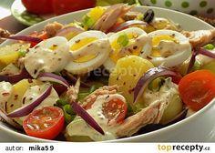 Potato Salad, Salads, Food And Drink, Potatoes, Eggs, Treats, Breakfast, Ethnic Recipes, Sweet Like Candy