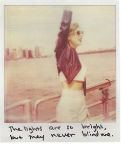 Taylor Swift Polaroid 34 - Welcome To New York #1989