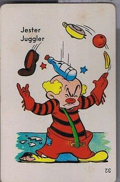 JUGGLER CARD
