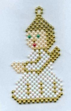 Bead Jewellery, Bead Earrings, Beaded Jewelry, Beaded Bracelets, Basic Hand Embroidery Stitches, Beaded Embroidery, Nativity Ornaments, Beaded Ornaments, Beaded Door Curtains