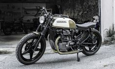 Woodgates Motorcycles CX500 - the Bike Shed