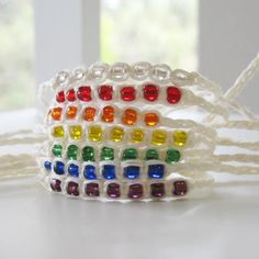 Wish Bracelets Beaded Friendship Bracelets. via Etsy.