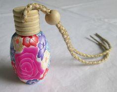 Vidro decorado para aromatizador de carr